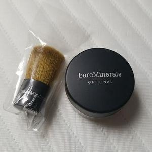 New bareMinerals Foundation & Brush